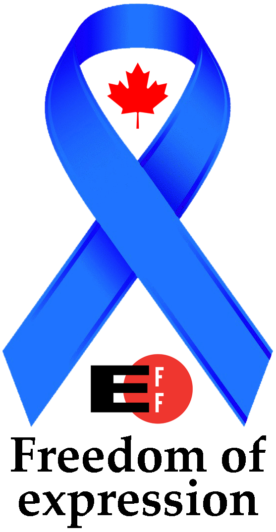 Electronic Frontier Foundation (EFF) Blue Ribbon Campaign (logo by Randolf Richardson)